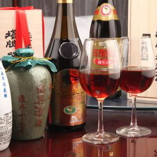 頤和園の味にマッチした紹興酒・ワインをセレクト!!