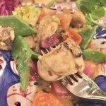 松島イタリアン トト - 牡蠣、こんな感じ