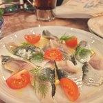 松島イタリアン トト - イワシをサッパリレモンでマリネしています。