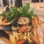 松島イタリアン トト - 魚介たくさんペスカトーレ