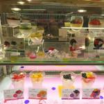 リンガーハット - 『長崎あんにん』というお洒落なデザートもありました。