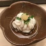 鮨 銀座 おのでら - 白子ポン酢