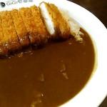カレーハウス CoCo壱番屋 - 料理写真:チキンカツカレー、ビーフカレールウ。