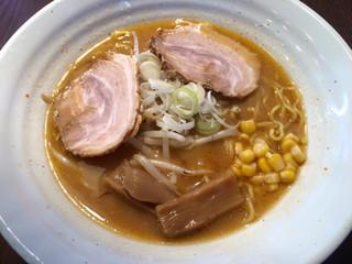 かじべえ - 旭川味噌ラーメン