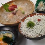 魚彩酒 うたげ - 料理写真:塩津産 釜揚げしらす御膳
