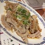 中華飯店 - 牛モツ温菜 750円