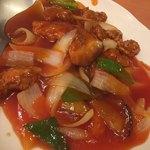 中華飯店 - 酢豚 1620円