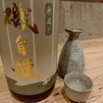 79178717 - 【2018.1.9(火)】冷酒(磯自慢・静岡県・1合)530円