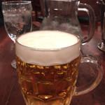 つばめグリル - 生ビール中 640円