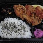 カラアゲセンモンテン マルヨシ - 鶏もものから揚げ弁当 680円