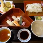 にし家 - 寿司天ぷら御膳