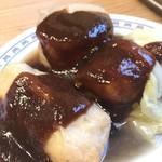 三徳らーめん - 料理写真:味噌おでん