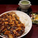 79182727 - 20180109麻婆豆腐ライス