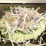 かご飲食店 - 2017.12.11  牡蠣の投入〜