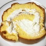 ニュードラゴン - ロールケーキの断面