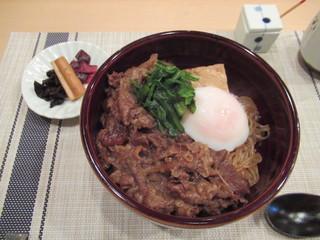 くろす - すき焼き丼