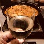 個室バル 鳥と魚と時々ワイン 克  - プレミアム飲み放題の白ワイン