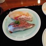 小笹寿し - 鯛、鰺