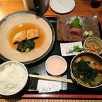 79187779 - 煮魚定食1100円