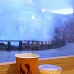 79188746 - 地獄蒸焼プリン 300円、コーヒー120円