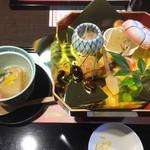 京懐石 美濃吉 - 初春祝七種