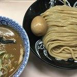 中華蕎麦 とみ田 - 濃厚つけめん(並)+味玉(980円)