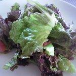 コバズ - ランチ、サラダ。美味しかったです