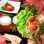 ぷくぷく - 野菜で巻いて食べるあなたはツー!?