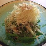 梅の花 - 豆腐サラダ