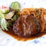 シルクロード - ハンバーグスパゲティ
