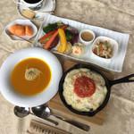 フラワリッシュ - 豆腐ソースの玄米ドリア