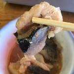 渡辺鮮魚 - あんこうの身と皮