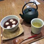 織部 - 白玉ぜんざい お茶付