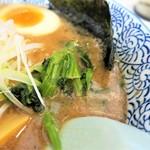 麺屋 青山 - ほうれん草