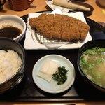黒豚料理 寿庵 - 黒豚ロースかつランチ1,566円