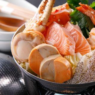 函館から旬の鮮魚を直送!贅沢な海の味覚を多彩な料理に