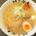 宮本 - 料理写真:背脂醤油らーめん(大盛)