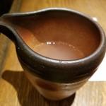 宮城野 - 蕎麦湯