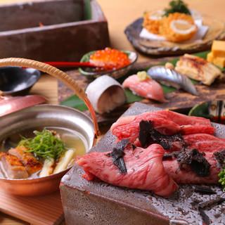 【食】旬の厳選食材を使用、伝統と新しさを合わせもつ「和食」