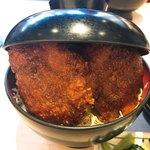 明治亭 - ヒレソースカツ丼