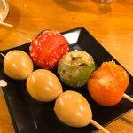 かわ焼き まいける - トマト・うずら