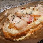 ルメルシエ - スモークチキンとローズマリーのタルティーニュ