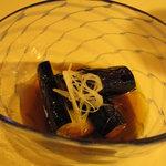 山里料理 葡萄屋 - 前菜の茄子