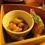 山里料理 葡萄屋 - 煮豆など