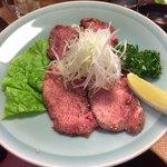 炭火焼 牛門 - 料理写真:上塩タン1350円