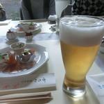 日本料理 茶寮このみ - おビール
