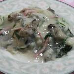 レストラン 朱鷺 - カキのクリームライス