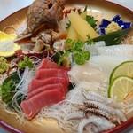 寿司和食しかま - 刺身盛合わせ