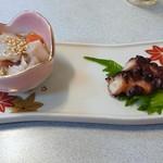 寿司和食しかま - お通し