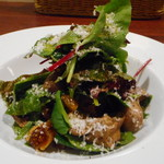 ビアカフェ ホップマン - 鶏レバー、ドライフルーツのバルサミコ酢サラダ